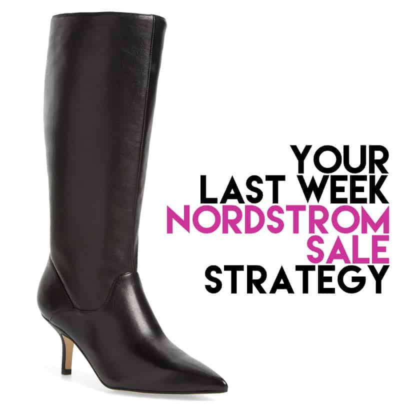 Black Knee High Boots The Best Buys For The Last Week of The Nordstrom Sale