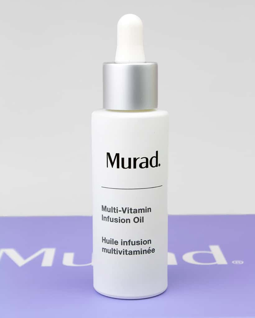 Murad Multi Vitamin Infusion Oil packaging Want Good Skin? Look to the Alphabet (and Murad)