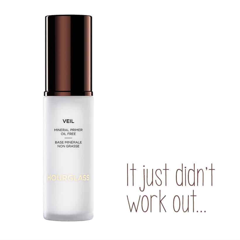 Hourglass Veil Primer review The Beauty Product I Wanted to Love, But Didnt...