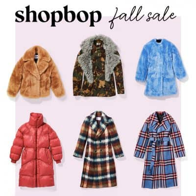 Three Key Fall Fashion Pieces You Need (and they're all part of the Shopbop sale!)