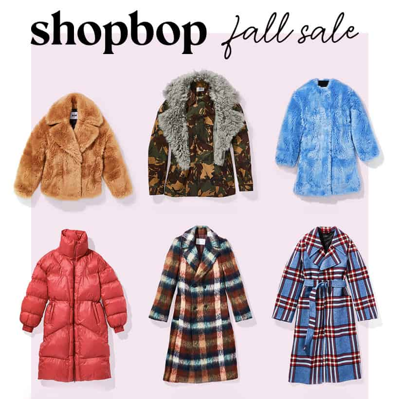 Shopbop Fall 2018 Sale Three Key Fall Fashion Pieces You Need (and theyre all part of the Shopbop sale!)