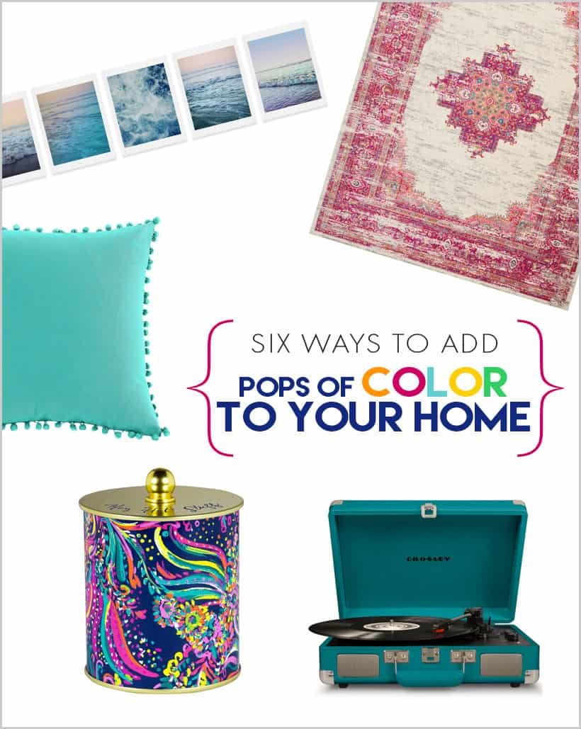 add pops of color to your home 6 Ways to Add Pops of Color to Your Home