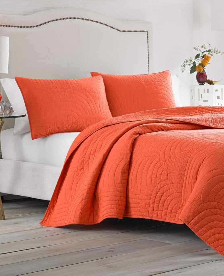 nordstrom home decor Trina Turk quilt 6 Ways to Add Pops of Color to Your Home