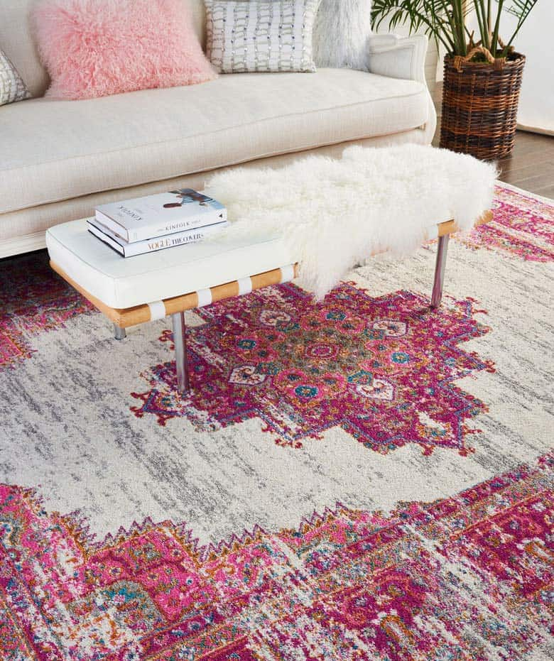 nordstrom home decor bright rug 6 Ways to Add Pops of Color to Your Home