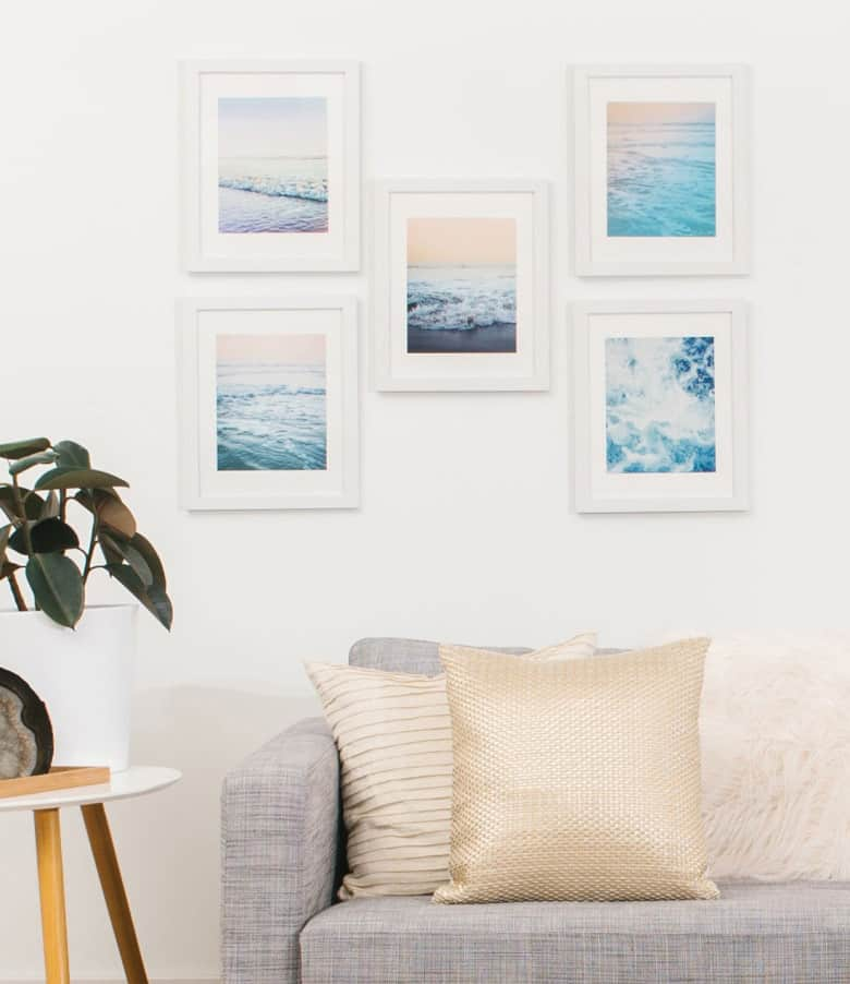 nordstrom home decor pastel ocean prints 6 Ways to Add Pops of Color to Your Home