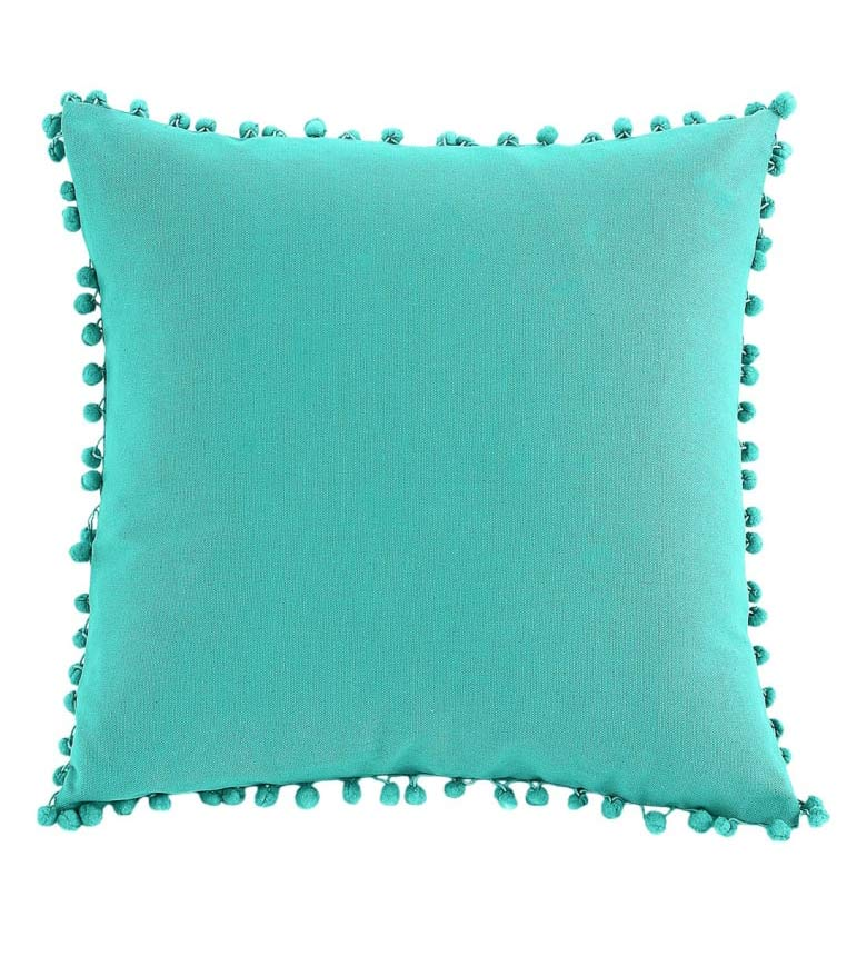 nordstrom home decor pom pom pillow 6 Ways to Add Pops of Color to Your Home