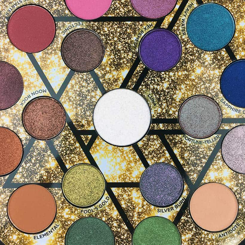 best luxury eyeshadow Urban Decay Elements palette swatches Five Luxury Eye Shadow Palettes You Need from the Sephora Sale