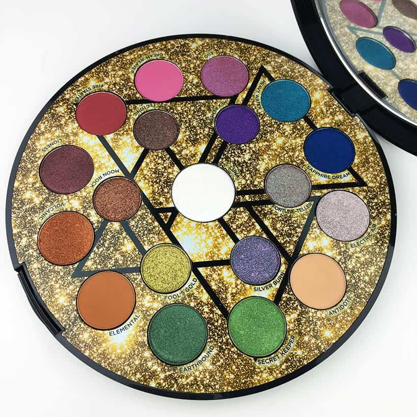 best luxury eyeshadow Urban Decay Elements palette Five Luxury Eye Shadow Palettes You Need from the Sephora Sale