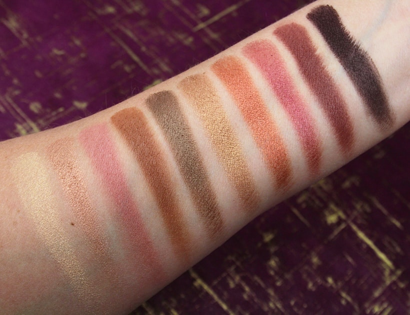 elf rose gold sunset eyeshadow palette swatches Looking for a Budget Friendly Rose Gold Eyeshadow Palette? Look No Further....