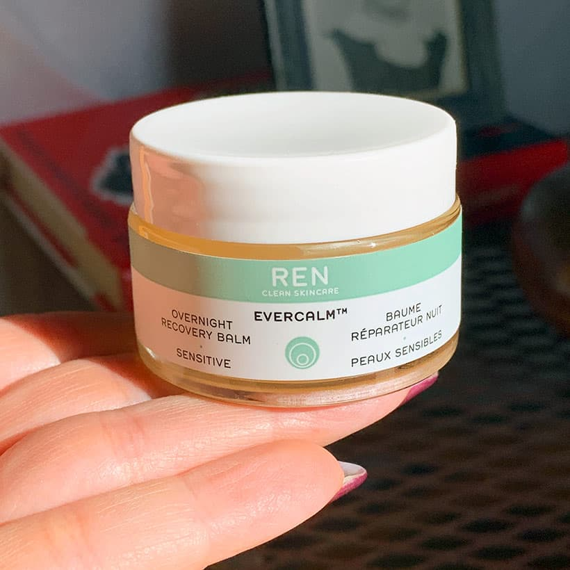 REN Overnight recovery balm natural skincare REN Evercalm Overnight Recovery Balm: Anger Management for Your Skin