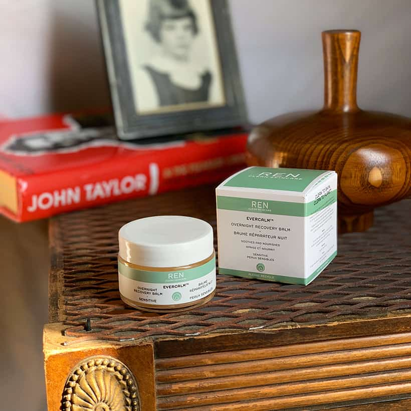 REN Overnight recovery balm review REN Evercalm Overnight Recovery Balm: Anger Management for Your Skin