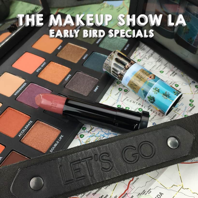 the makeup show la 2018 specials 2 Deals, Discounts and More: The Makeup Show LA, 2018