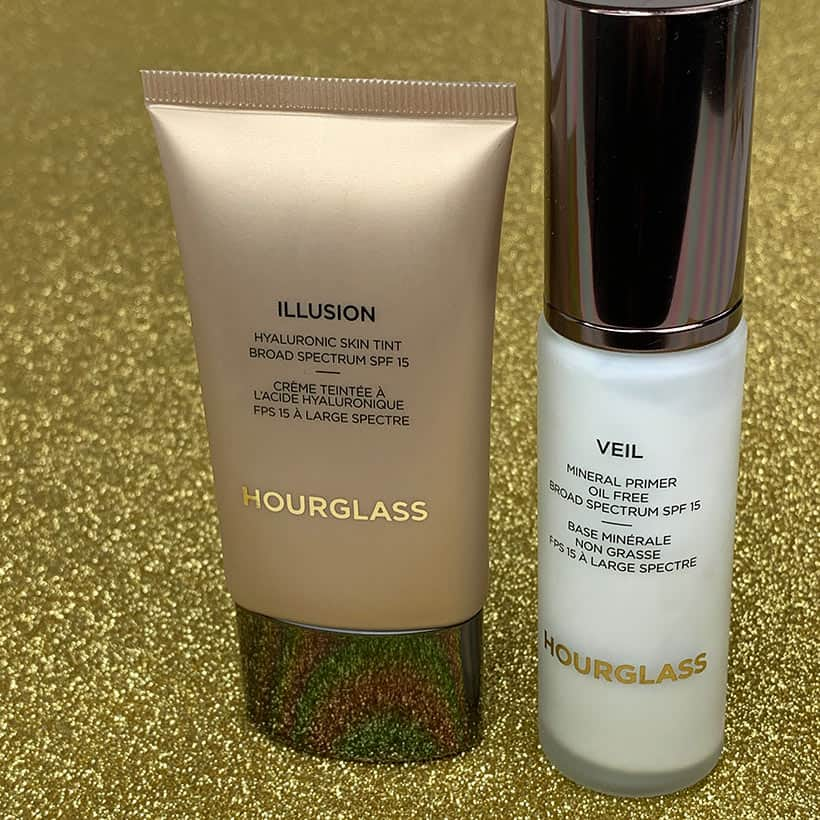 Horglass Illusion 3 Hourglass Cosmetics Veil Mineral Primer and Illusion Skin Tint Review