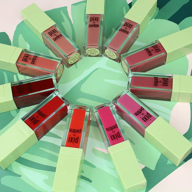 We Swatched the Entire Pixi MatteLast Liquid Lip Color Collection (and we liked it!)