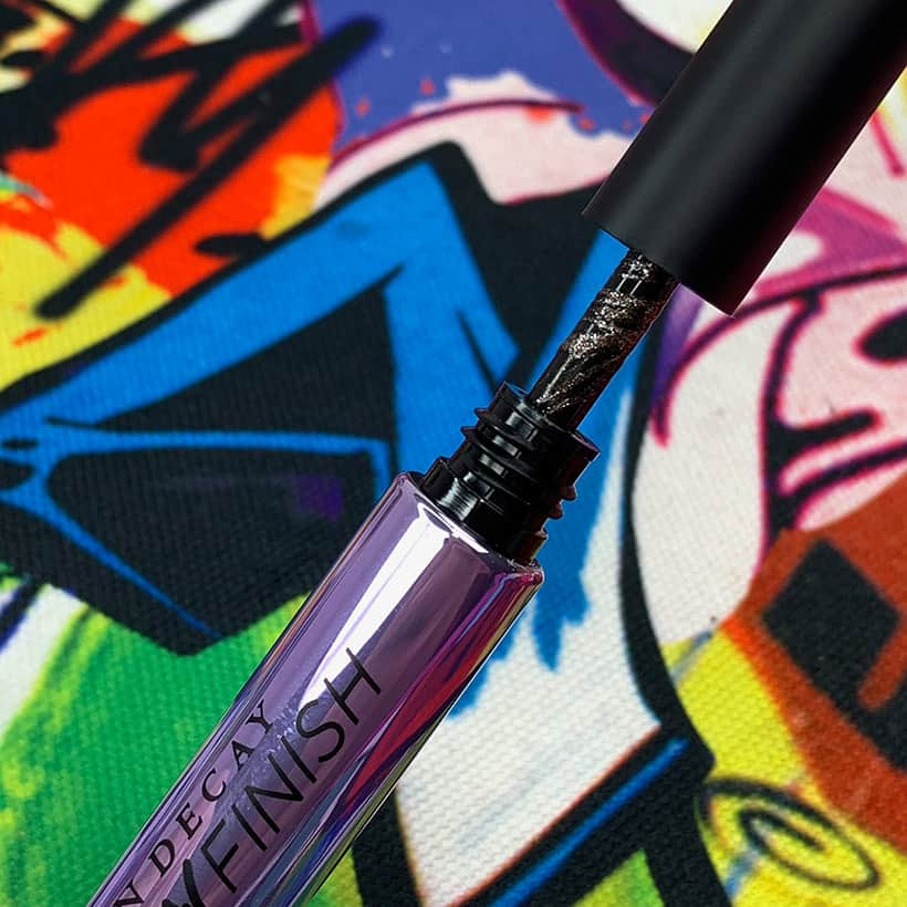 Urban Decay Brow Finish Midnight Cowboy swatch Urban Decay Street Style Brow Collection