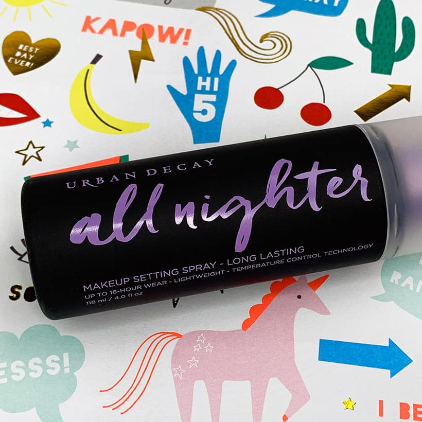 Urban Decay All Nighter setting spray review 3 Urban Decay All Nighter Long Lasting Makeup Setting Spray 12 Hour Wear Test