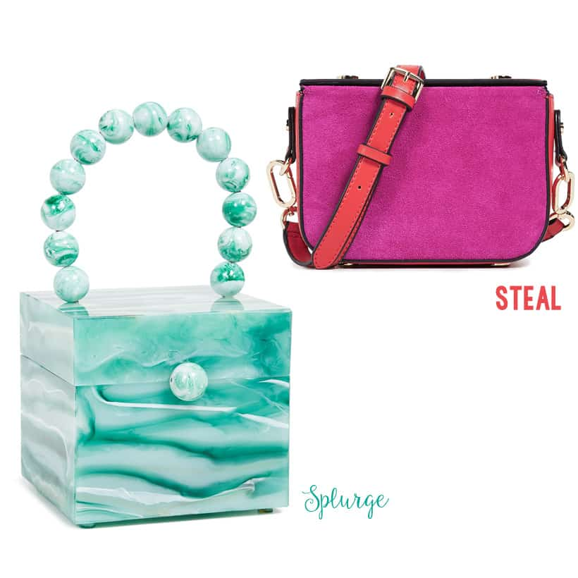 splurge vs steal bold purses