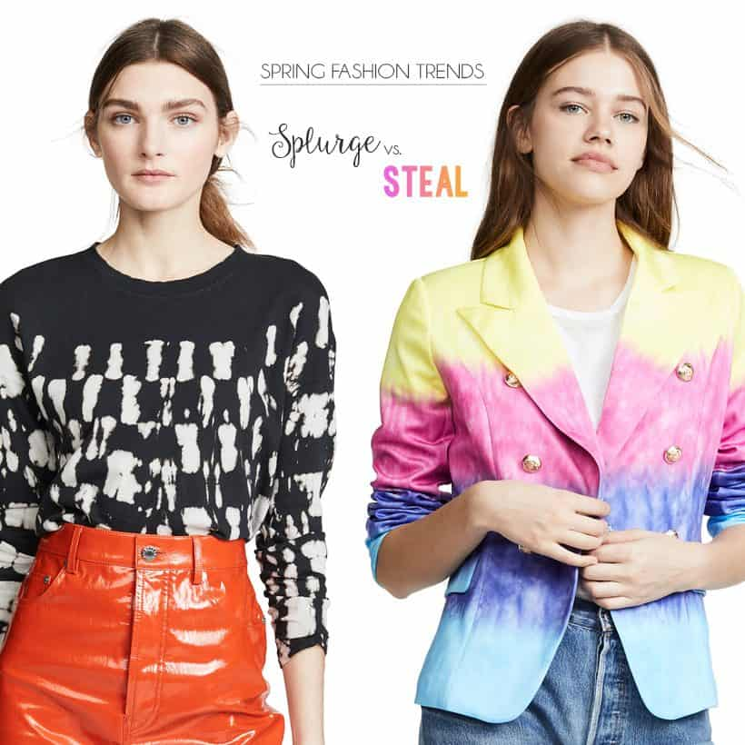 Splurge vs. Steal: Spring Fashion Trends