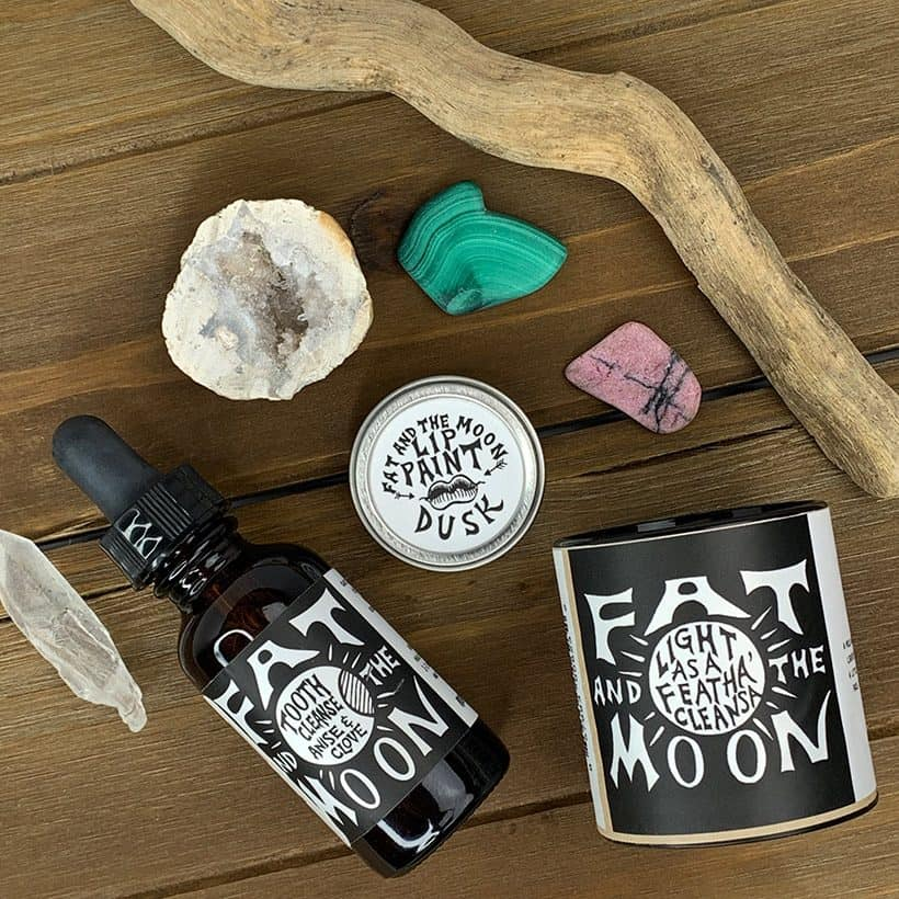 Empowering and Nourishing Beauty Potions from Fat and the Moon