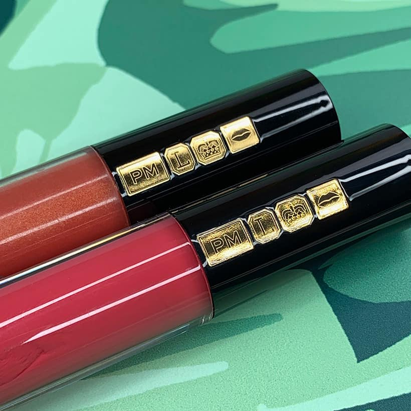 Pat McGrath Lust: Gloss lipgloss wand with gold emblems