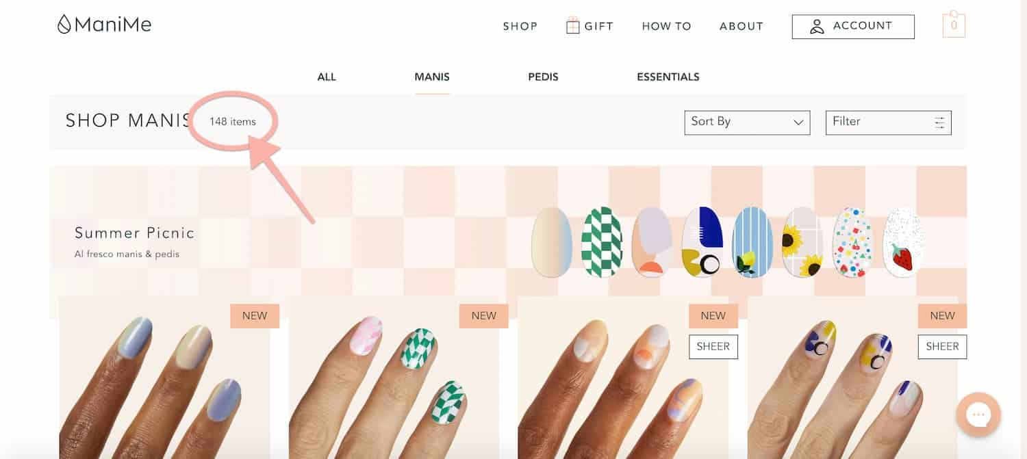 Manime Review Manicure Styles